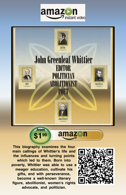 John Greenleaf Whittier-biography-QR code